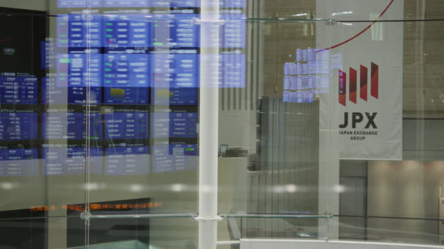 tokyo stock exchange - exchange rate stock videos & royalty-free footage