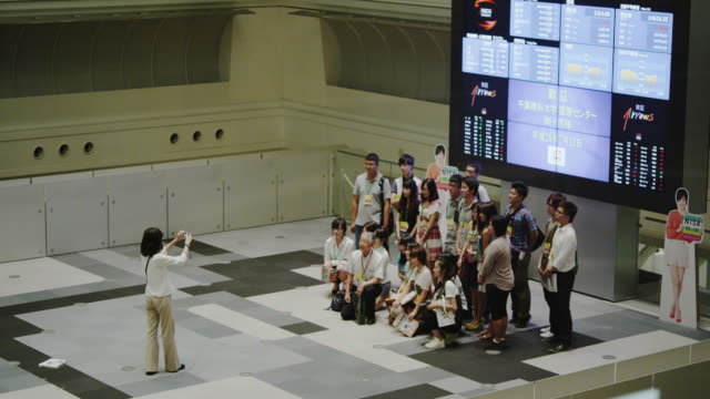 tokyo stock exchange - making money stock videos and b-roll footage