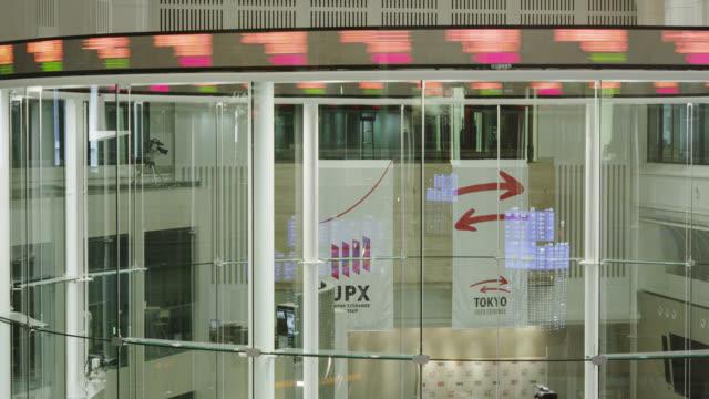 tokyo stock exchange - bull market stock videos & royalty-free footage