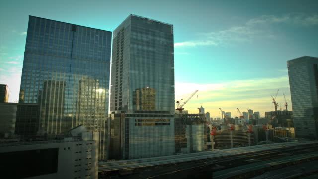stockvideo's en b-roll-footage met tokyo, sunrise timelapse - tokyo japan