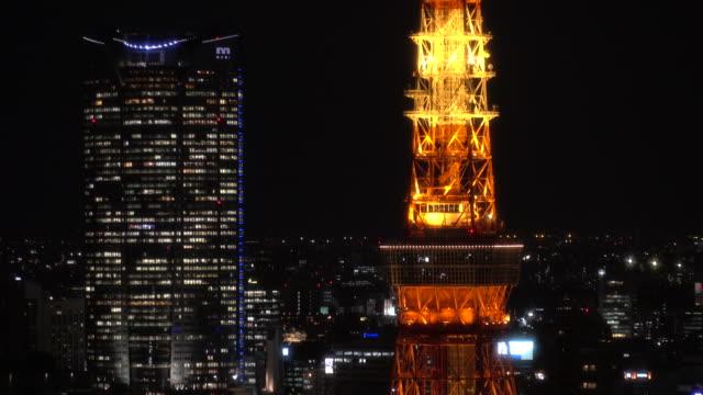 tokyo sunset - insel honshu stock-videos und b-roll-filmmaterial