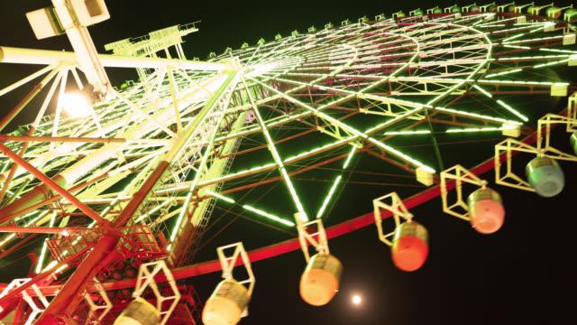 4K UHD Tokyo Time Lapse - Odaiba Ferris Wheel Daikanransha