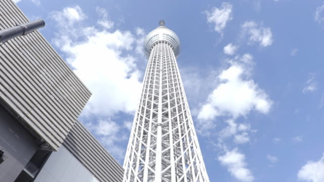 tokyo tourist destination - low angle view stock-videos und b-roll-filmmaterial