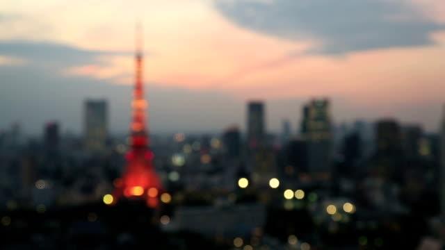 Tokyo Tower Defocussed