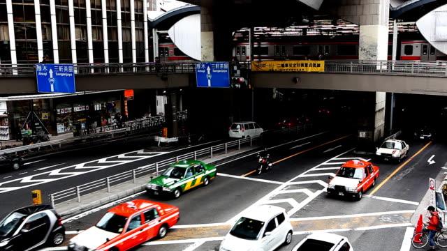 stockvideo's en b-roll-footage met tokyo train ride - straatnaambord