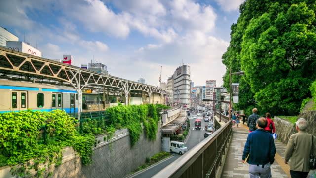 vídeos y material grabado en eventos de stock de transporte de tokio - andén de estación de metro