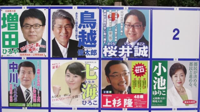Tokyo votes Sunday for a new governor who will have to get gaffe plagued preparations for the 2020 Olympics back on track and avoid spending scandals...
