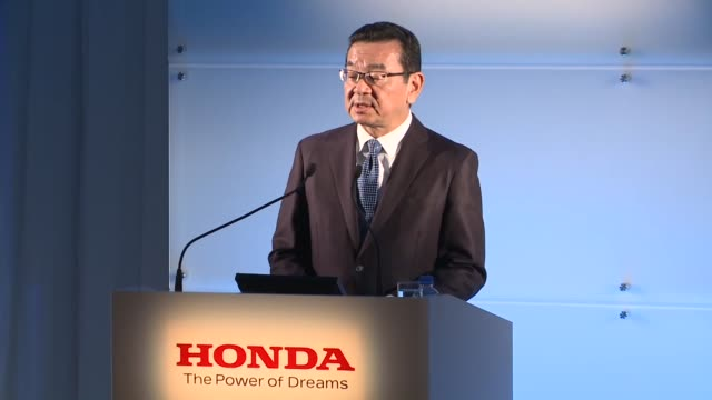 honda motor co said tuesday it will close its car plant in britain in 2021 at a cost of 3500 jobs becoming the latest japanese company to scale back... - ホンダ点の映像素材/bロール