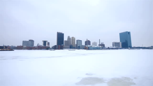 Toledo, OH in the winter