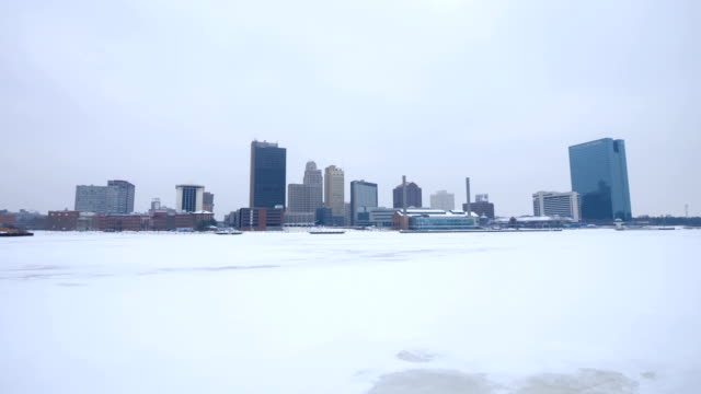 stockvideo's en b-roll-footage met toledo, oh in de winter - ohio