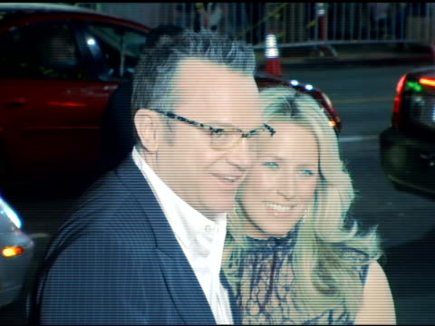 Tom Arnold and wife Shelby at the 'The Kid and I' Los Angeles Premiere at Grauman's Chinese Theatre in Hollywood California on November 28 2005