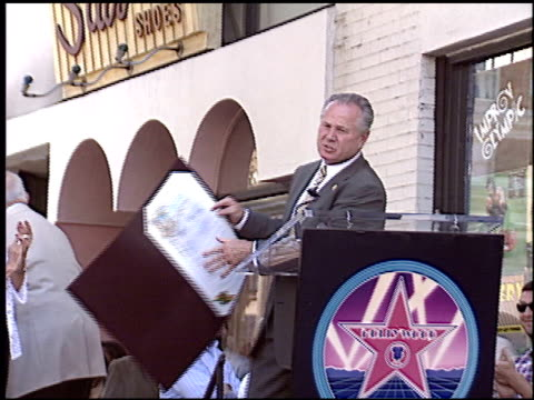 Tom Arnold at the Dediction of Chris Farley's Walk of Fame Star at the Hollywood Walk of Fame in Hollywood California on August 26 2005