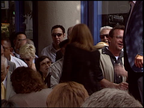 tom arnold at the dediction of laverne and shirley's walk of fame star at the hollywood walk of fame in hollywood, california on august 12, 2004. - tom arnold stock videos & royalty-free footage
