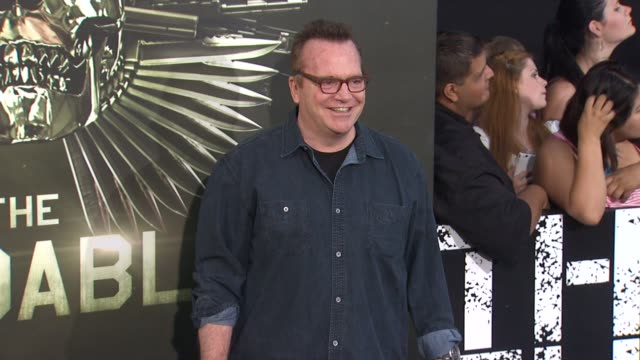 tom arnold at the expendables 2 los angeles premiere on 8/15/12 in hollywood, ca. - tom arnold stock videos & royalty-free footage
