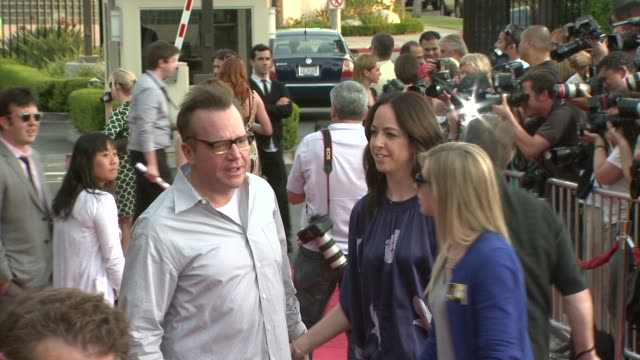 tom arnold at the 'the soloist' premiere at los angeles ca. - soloist stock videos & royalty-free footage