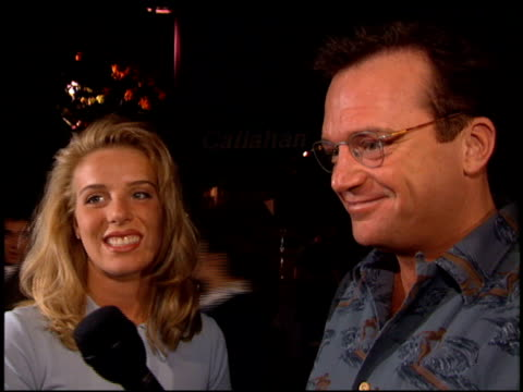 tom arnold at the 'tommy boy' premiere at paramount in los angeles, california on march 29, 1995. - tom arnold stock videos & royalty-free footage