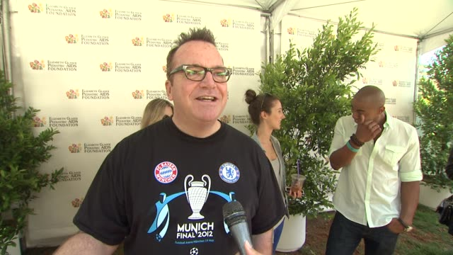 Tom Arnold on today's event on the work EGPAF does and on what he's looking forward to at 23rd Annual 'A Time For Heroes' Celebrity Picnic Benefiting...