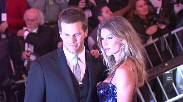 Tom Brady and Gisele Bundchen at the 'The Model as Muse Embodying Fashion' Costume Institute Gala at The Metropolitan Museum of Art Arrivals at New...
