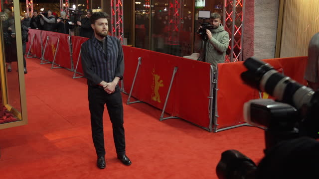 Tom Burke at 'The Souvenir' Red Carpet Arrivals 69th Berlin Film Festival at Zoo Palast on February 12 2019 in Berlin Germany