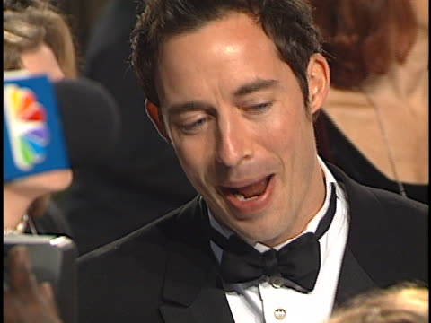 tom cavanagh at the peoples choice awards 2001 at pasadena civic auditorium. - pasadena civic auditorium stock videos & royalty-free footage