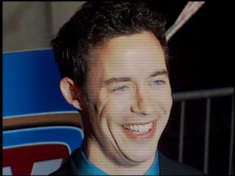 tom cavanagh at the tv guide awards at the shrine auditorium in los angeles, california on february 24, 2001. - shrine auditorium video stock e b–roll
