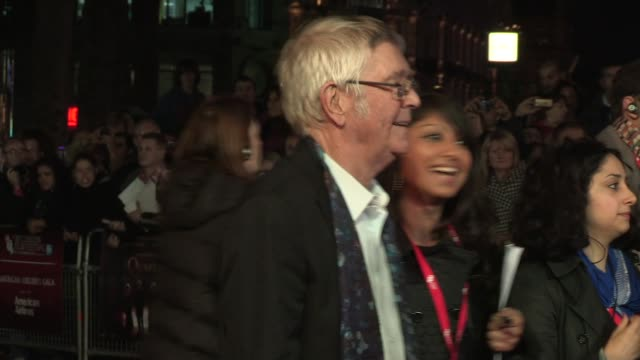 tom courtenay at quartet premiere 56th bfi london film festival at odeon west end on october 15 2012 in london england - tom courtenay stock videos & royalty-free footage