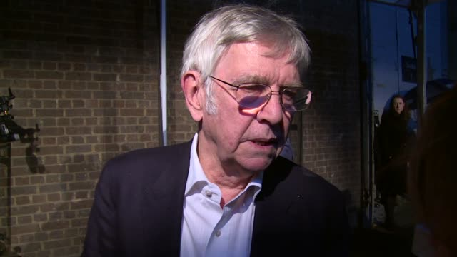 interview tom courtenay on awards and fellow actors at the london television centre on february 07 2016 in london england - tom courtenay stock videos & royalty-free footage