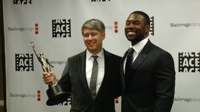 Tom Cross Shariff Earp at 67th Annual ACE Eddie Awards in Los Angeles CA