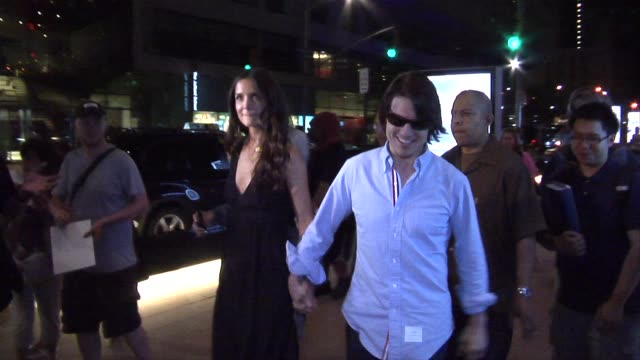 Tom Cruise And Katie Holmes at the Don't Be Afraid Of The Dark Premiere