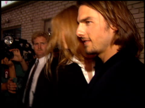 Tom Cruise and Nicole Kidman at the 'Interview with the Vampire' Premiere at the Mann Village Theatre in Westwood California on November 9 1994