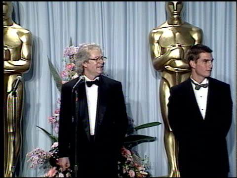 tom cruise at the 1989 academy awards at the shrine auditorium in los angeles california on march 29 1989 - academy awards stock videos & royalty-free footage
