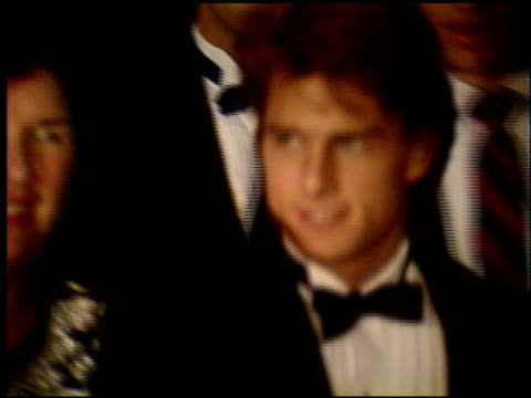 tom cruise at the 1990 golden globe awards at the beverly hilton in beverly hills california on january 20 1990 - tom cruise stock videos & royalty-free footage