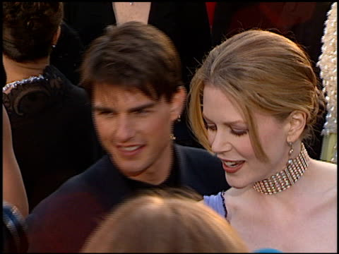tom cruise at the 1996 academy awards arrivals at the shrine auditorium in los angeles california on march 25 1996 - academy awards stock videos & royalty-free footage