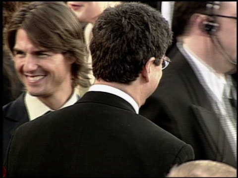 tom cruise at the 2000 academy awards at the shrine auditorium in los angeles, california on march 26, 2000. - 第72回アカデミー賞点の映像素材/bロール