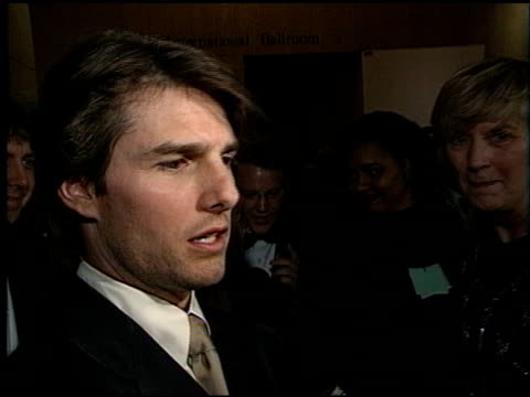 Tom Cruise at the Artist Rights Foundation Arrivals at the Beverly Hilton in Beverly Hills California on April 17 1998
