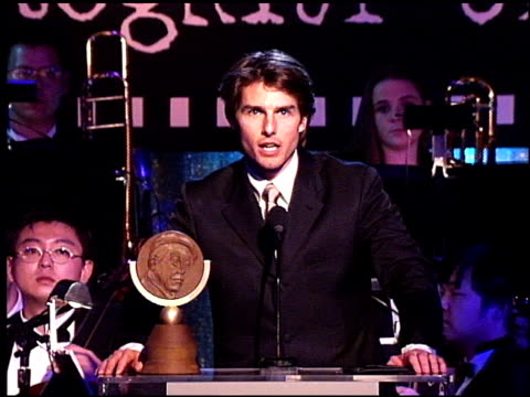 Tom Cruise at the Artist Rights Foundation at the Beverly Hilton in Beverly Hills California on April 17 1998