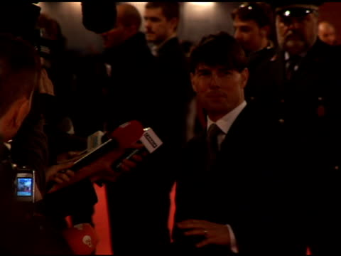 tom cruise at the 'lions for lambs' premiere at the second rome film festival at auditorium in rome on october 23, 2007. - rome film festival stock videos & royalty-free footage