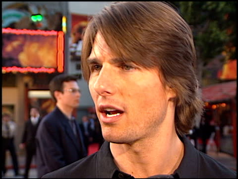 Tom Cruise at the 'Mission Impossible 2' Premiere at Grauman's Chinese Theatre in Hollywood California on May 18 2000