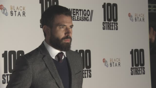 Tom Cullen at '100 Streets' UK Film Premiere at BFI Southbank on November 08 2016 in London England