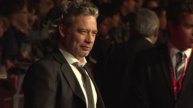 tom ford, dexter fletcher, terry gilliam, rita wilson at opening ceremony - 'captain phillips' red carpet at odeon leicester square on october 9,... - terry gilliam stock-videos und b-roll-filmmaterial