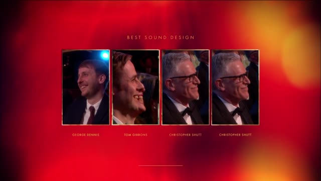 Tom Gibbons People Places and Things Best Sound Design at The Olivier Awards with MasterCardThe Royal Opera House on April 04 2016 in London England