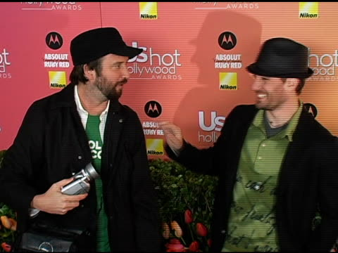 tom green and jc chasez at the us weekly hot hollywood awards at republic restaurant and lounge in los angeles california on april 26 2006 - jc chasez stock videos & royalty-free footage