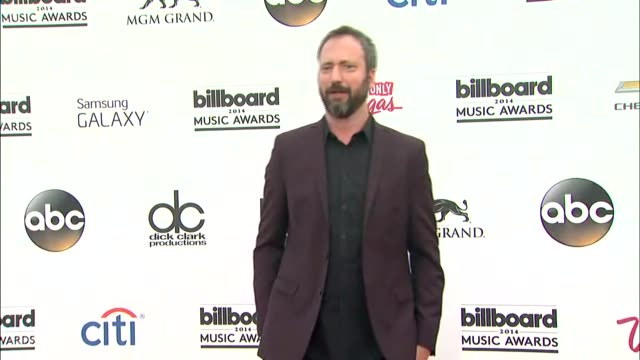 tom green at the 2014 billboard music awards - arrivals at the mgm grand garden arena on may 18, 2014 in las vegas, nevada. - トム グリーン点の映像素材/bロール
