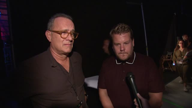 INTERVIEW Tom Hanks and James Corden on teachers who inspired them in high school what they learned and what inspired them what they wished they...