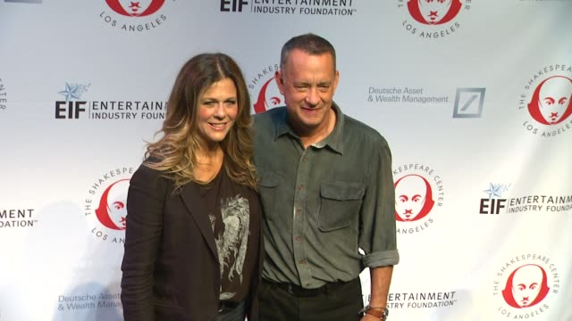 Tom Hanks and Rita Wilson at 23rd Annual Simply Shakespeare Tom Hanks and Rita Wilson at 23rd Annual Simply at The Broad Stage on September 25 2013...