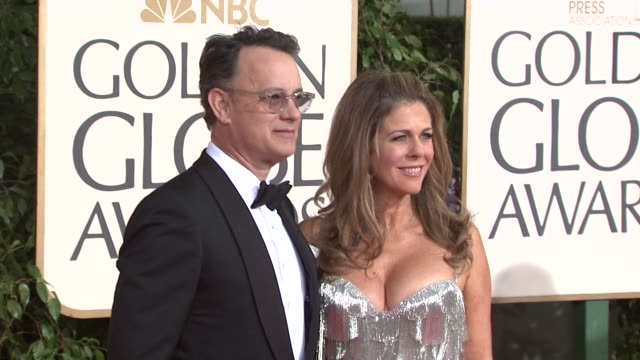 Tom Hanks and Rita Wilson at the 66th Annual Golden Globe Awards Arrivals Part 5 at Los Angeles CA