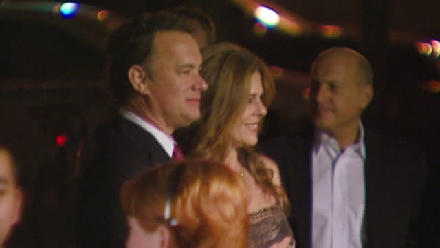 Tom Hanks and Rita Wilson at the 'A Fine Romance' Event Celebrating the Love Affair Between Hollywood and Broadway at Sunset Gower Studios in...