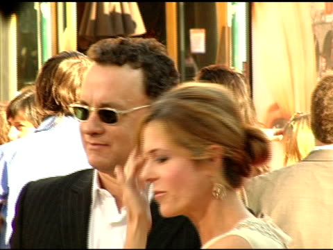 Tom Hanks and Rita Wilson at the 'Raise Your Voice' Premiere on October 3 2004