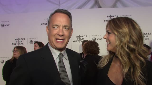 INTERVIEW – Tom Hanks and Rita Wilson jokes that this is a typical date night for him and his wife On what makes The Circle such a compelling film On...