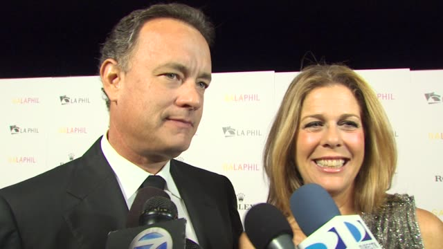 Tom Hanks and Rita Wilson on if they think Gustavo Dudamel will bring a new audience to classical music because of his age and ethnicity what it is...
